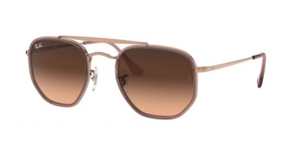 Ray Ban 0RB3648M 9069A5 THE MARSHAL II Copper - Pink Gradient Brown