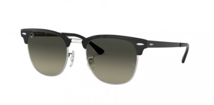 Ray Ban 0RB3716 900471 CLUBMASTER METAL Silver Top Black - Light Grey Gradient Dark Grey
