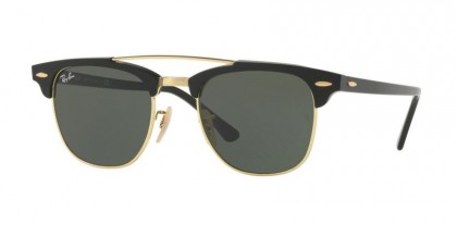 Ray Ban 0RB3816 901 Black - Green