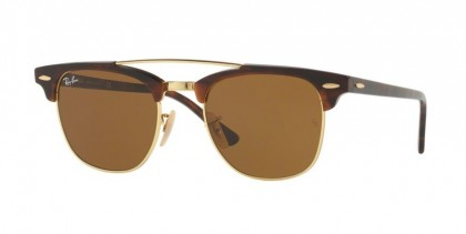 Ray Ban 0RB3816 990/33 Gold - Brown