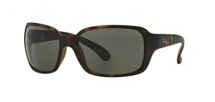Ray Ban 0RB4068 RB4068 894/58 Matte Havana - Green Polarized
