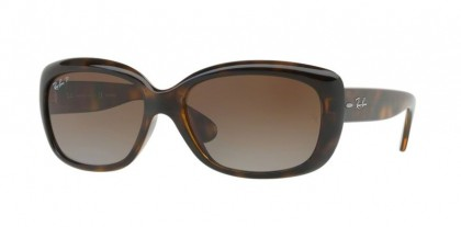 Ray Ban 0RB4101 JACKIE OHH 710/T5 Light Havana - Grey Gradient Brown Polarized