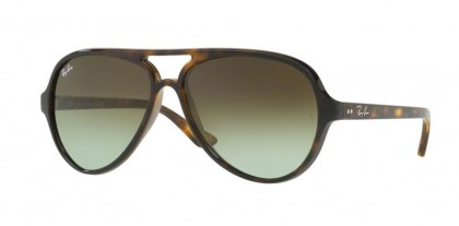 Ray Ban 0RB4125 CATS 1000 710/A6 Havana - Green Gradient Brown