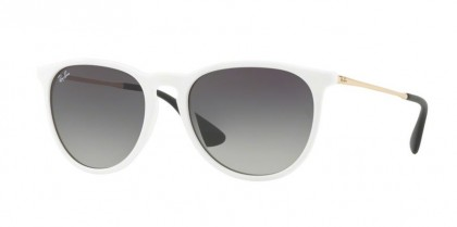 Ray Ban 0RB4171 ERIKA 631411 Shiny White - Grey Gradient Dark Grey