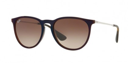 Ray Ban 0RB4171 ERIKA 631513 Transparent Brown Blue - Brown Gradient Brown
