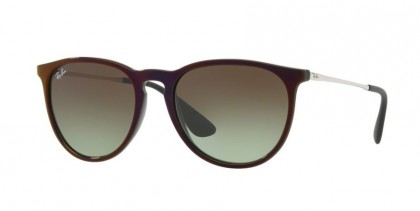Ray Ban 0RB4171 ERIKA 6316E8 Black Red - Green Gradient Brown