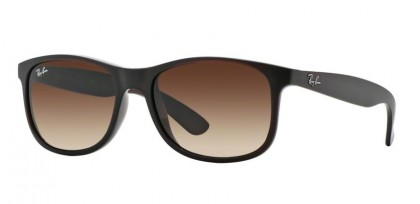 Ray-Ban 0RB4202 ANDY 6073/13 Matte Brown - Brown Gradient