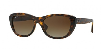 Ray Ban 0RB4227 710/T5 Light Havana - Brown Gradient Polarized