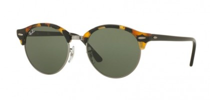 Ray Ban 0RB4246 11/57 Spotted Black Havana - Green