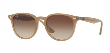 Ray Ban 0RB4259 6166/13 Shiny Opal Beige - Brown Gradient