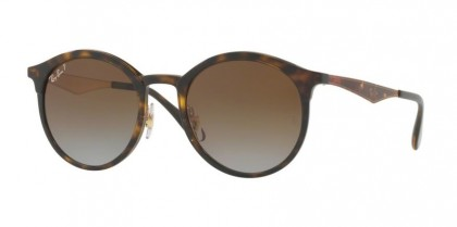 Ray Ban 0RB4277 710/T5 Light Havana - Light Grey Gradient Brown Polarized