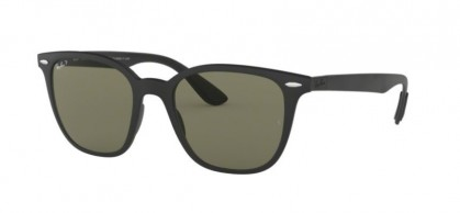 Ray Ban 0RB4297 601S9A  Matte Black - Polarized Green