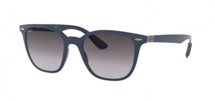 Ray Ban 0RB4297 63318G  Matte Dark Blue - Grey Gradient Dark Grey