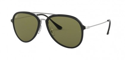 Ray Ban 0RB4298 601/9A  Black - Polarized Green
