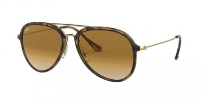Ray Ban 0RB4298 710/51  Light Havana - Crystal Brown Gradient