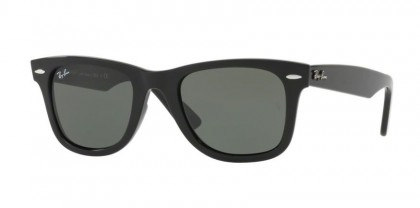 Ray Ban 0RB4340 WAYFARER 601 Black - Green