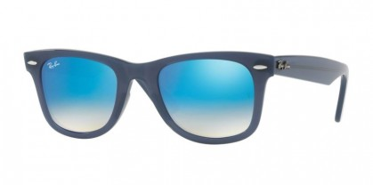 Ray Ban 0RB4340 WAYFARER 6232/4O Blue - Brown Gradient Brown Mirror Blue