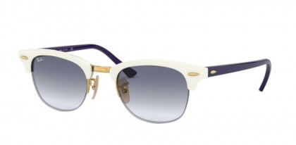Ray Ban 0RB4354 642519  White - Clear Gradient Light Blue