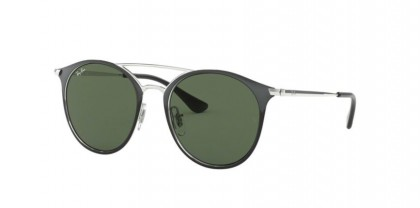 Ray Ban Junior 0RJ9545S 271/71  Silver On Top Black - Green