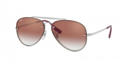 Ray Ban Junior 0RJ9548SN 212/V0  Silver - Red Mirror Red