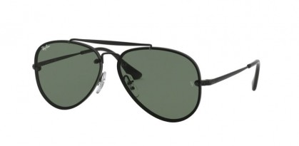 Ray Ban Junior 0RJ9548SN 220/71  Black - Dark Green