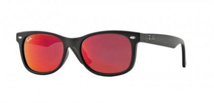 Ray Ban Junior 0RJ9052S 100S/6Q Matte Black - Red Multilayer