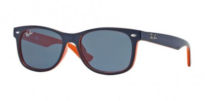 Ray Ban Junior 0RJ9052S 178/80 Top Blue on Orange - Blue