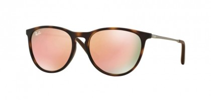 Ray Ban Junior 0RJ9060S 70062Y Havana Rubber - Light Brown Mirror Pink