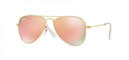 Ray Ban Junior 0RJ9506S 249/2Y Matte Gold - Copper Flash