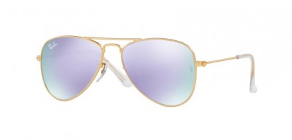 Ray Ban Junior 0RJ9506S 249/4V Matte Gold - Lillac Flash