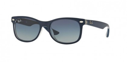 Ray Ban Kids 0RJ9052S 70234L Matte Blue on Transparent - Grey Gradient Blue