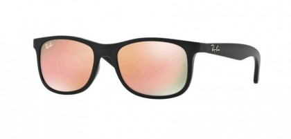 Ray Ban Kids 0RJ9062S 70132Y Matte Black on Black - Flash Copper