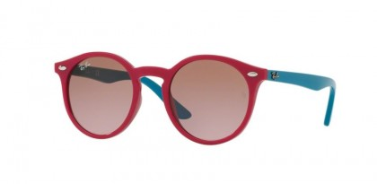Ray Ban Kids 0RJ9064S 7019/14 Fuchsia - Violet Gradient Brown