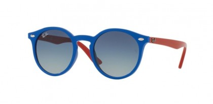 Ray Ban Kids 0RJ9064S 7020/4L Blue - Grey Gradient Blue