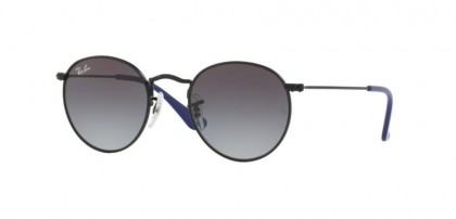 Ray-Ban Junior 0RJ9547S JUNIOR ROUND 201/8G Matte Black - Light Grey Gradient Dark Grey