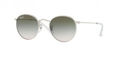 Ray-Ban Junior 0RJ9547S JUNIOR ROUND 212/2C Silver - Light Brown Gradient Green