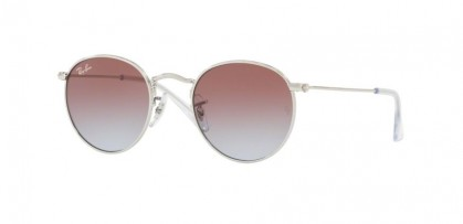 Ray-Ban Junior 0RJ9547S JUNIOR ROUND 212/I8 Silver - Light Blue Gradient Violet