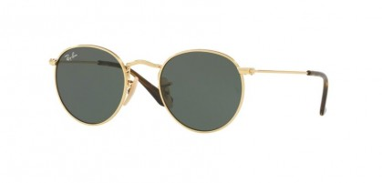 Ray-Ban Junior 0RJ9547S JUNIOR ROUND 223/71 Gold - Dark Green