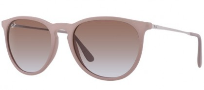 Ray-Ban 0RB4171 ERIKA 600068 Dark Rubber Sand - Brown Gradient