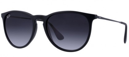 Ray-Ban 0RB4171 ERIKA 622/8G Rubber Black - Grey Gradient
