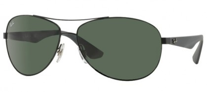 Rayban ACTIVE LIFESTYLE 0RB3526 006/71 Matte Black - Grey Green