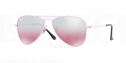 Rayban Junior 0RJ9506S 211/7E Pink - Pink Mirror Silver Gradient