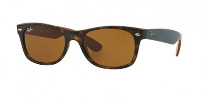 Ray-Ban 0RB2132 NEW WAYFARER 6179 Matte Havana - Brown