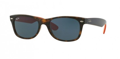 Ray-Ban 0RB2132 NEW WAYFARER 6180R5 Matte Havana - Grey