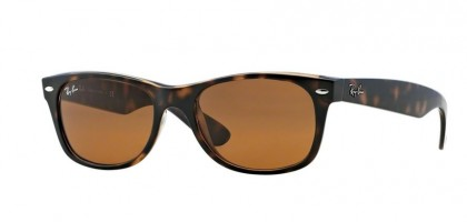 Ray-Ban 0RB2132 NEW WAYFARER 710 Light Havana - Crystal Brown