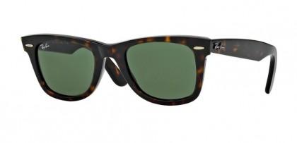 Rayban ICONS 0RB2140 WAYFARER 902 Tortoise - Crystal Green
