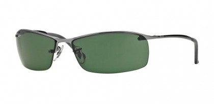 Ray-Ban 0RB3183 RB3183 004/71 Gunmetal - Green
