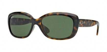 Rayban Rayban HIGHSTREET 0RB4101 JACKIE OHH 710 Light Havana - Crystal Green