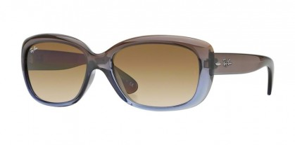 Rayban Rayban HIGHSTREET 0RB4101 JACKIE OHH 860/51 Brown Gradient Lillac - Crystal Mg Chocolate Gradient