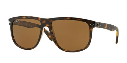 Ray-Ban 0RB4147 BOYFRIEND 710/57 Light Havana - Crystal Brown Polarized